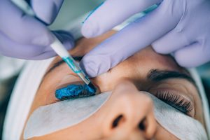 Beautician Lash Lifting